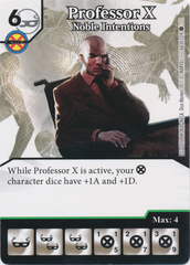 Professor X - Noble Intentions (Card and Die Combo) Foil