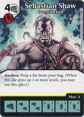 Sebastian Shaw - Overclocked (Card and Die Combo) Foil