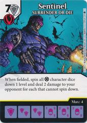 Sentinel - SURRENDER OF DIE (Die and Card Combo)