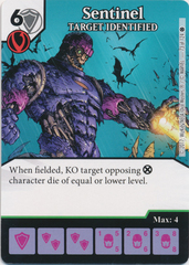 Sentinel - TARGET IDENTIFIED (Die and Card Combo)