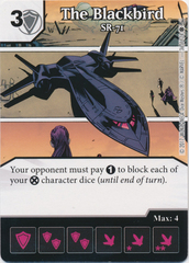 The Blackbird - SR-71 (Card and Die Combo) Foil