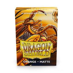 Dragon Shield - Matte Orange 60 Count Japanese size Sleeves
