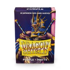 Dragon Shield Sleeves: Japanese Matte Purple (Box Of 60)