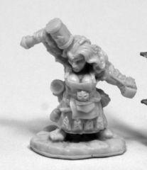 Margara, Female Dwarf Cleric