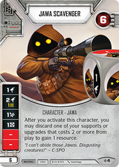 Jawa Scavenger (sold with matching die)