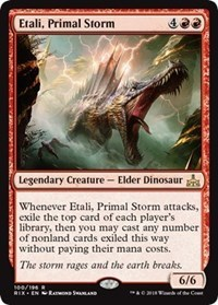 Primal Calamity Rivals of Ixalan Near Mint English -BFG- MTG 1x x1 Zacama