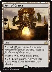 Arch of Orazca - Foil on Channel Fireball