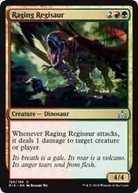 Raging Regisaur - Foil