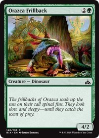 Orazca Frillback - Foil