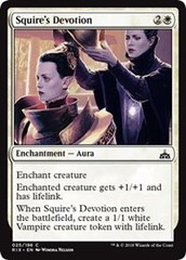 Squire's Devotion - Foil