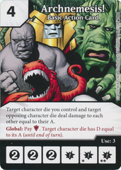 Archnemesis! - Basic Action Card (Card Only)