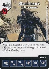 Blackheart - Evil Incarnate (Card Only)