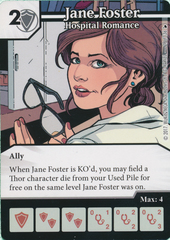Jane Foster - Hospital Romance (Card Only)
