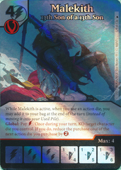 Malekith - 13th Son of a 13th Son (Card and Die Combo) Foil