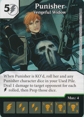 Punisher - Vengeful Widow (Card Only)