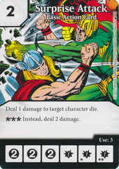 Surprise Attack - Basic Action Card (Card Only)