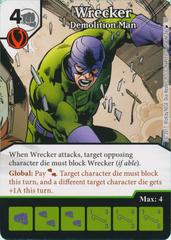 Wrecker - Demolition Man (Card Only)