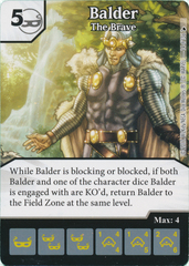 Balder - The Brave (Die and Card Combo)