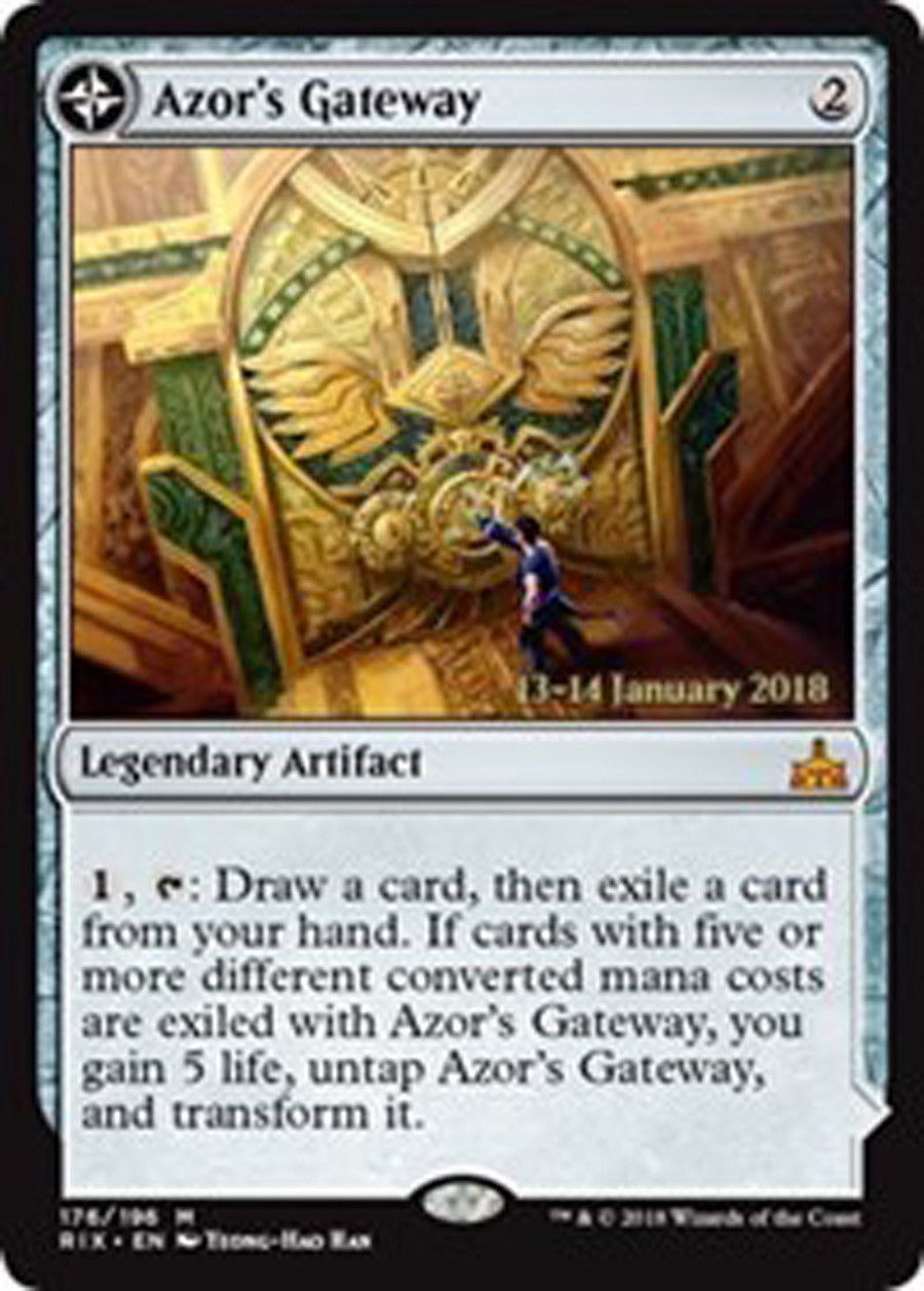 Azors Gateway // Sanctum of the Sun - Foil - Prerelease Promo