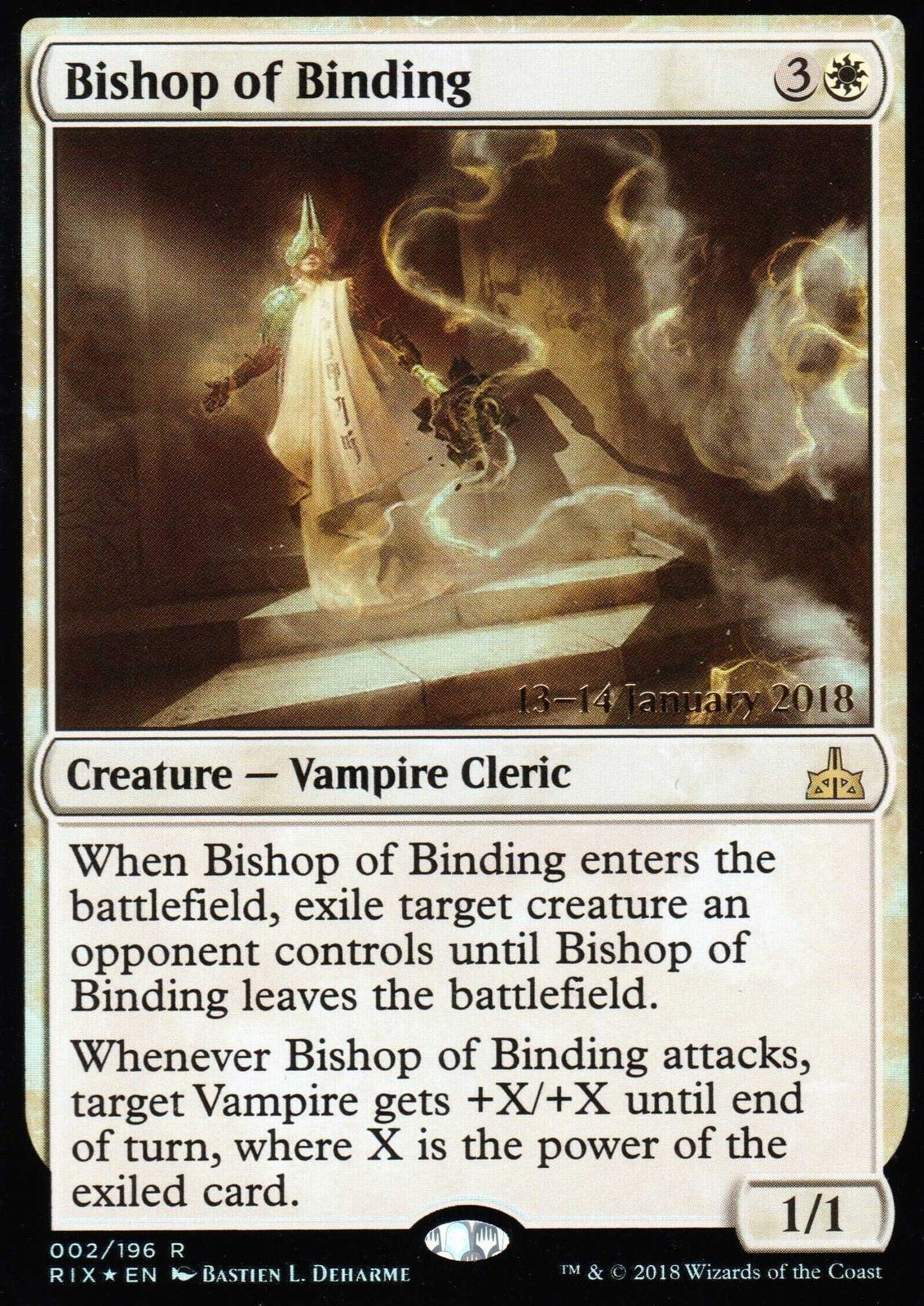 Bishop of Binding - Foil - Prerelease Promo