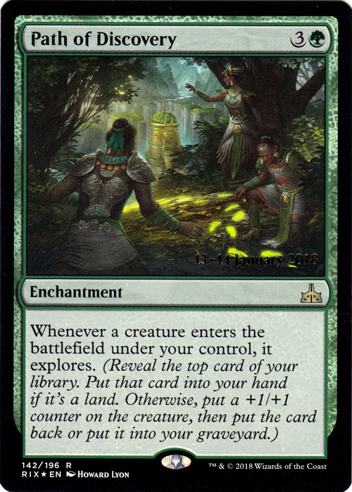 Path of Discovery - Foil - Prerelease Promo