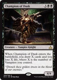 Champion of Dusk - Foil - Prerelease Promo