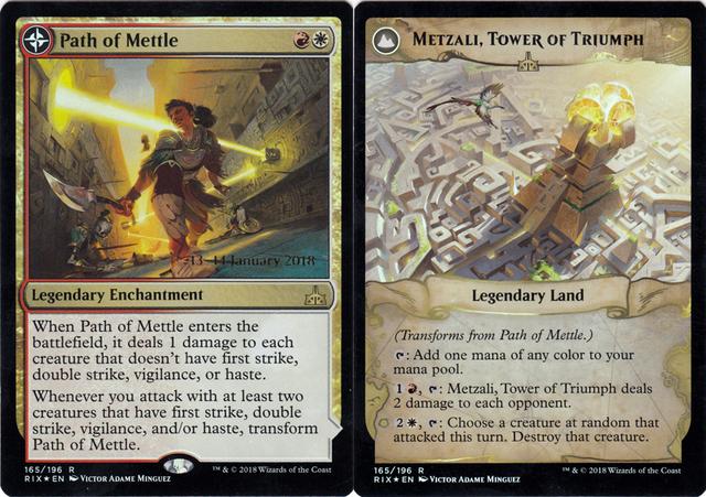 Path of Mettle // Metzali, Tower of Triumph - Foil - Prerelease Promo