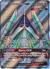 Celesteela GX - 144/156 - Full Art Ultra Rare