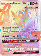 Dawn Wings Necrozma GX - 161/156 - Secret Rare
