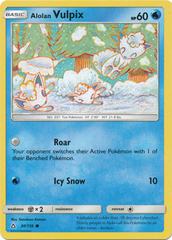 Alolan Vulpix - 30/156 - Common