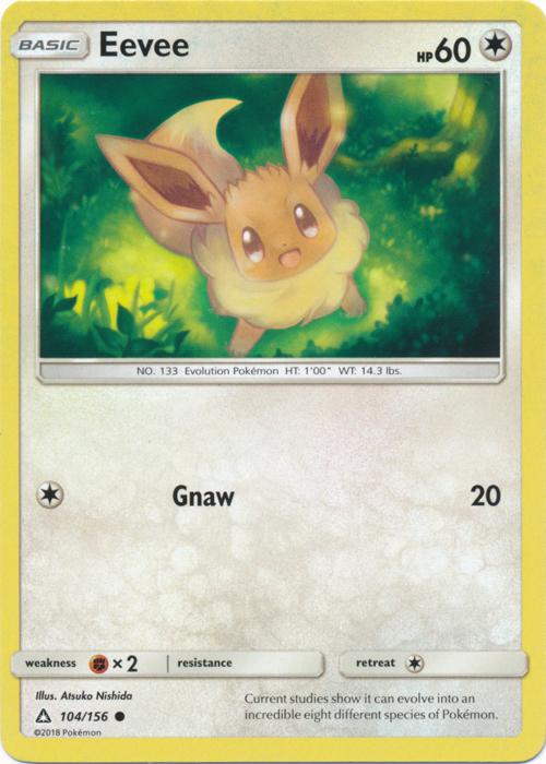 Eevee - 104/156 - Common