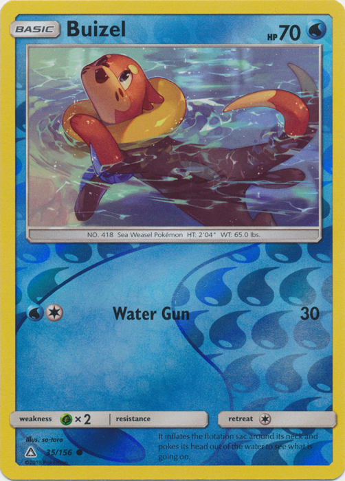 Reverse Holo Snover 37/156 Pokemon SM Ultra Prism Card