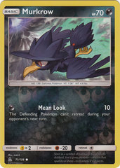 Murkrow - 71/156 - Common - Reverse Holo