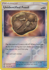 Unidentified Fossil - 134/156 - Uncommon - Reverse Holo