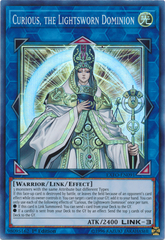 Curious, the Lightsworn Dominion - EXFO-EN091 - Super Rare - 1st Edition on Channel Fireball