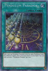 Pendulum Paradox - EXFO-EN061 - Secret Rare - 1st Edition