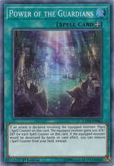 Power of the Guardians - EXFO-EN060 - Super Rare - 1st Edition