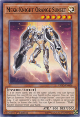 Mekk-Knight Orange Sunset - EXFO-EN016 - Common - 1st Edition