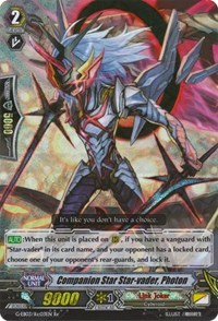 Cardfight Vanguard Card Chaos Breaker Close Star-Vader G-EB03//S06EN SP