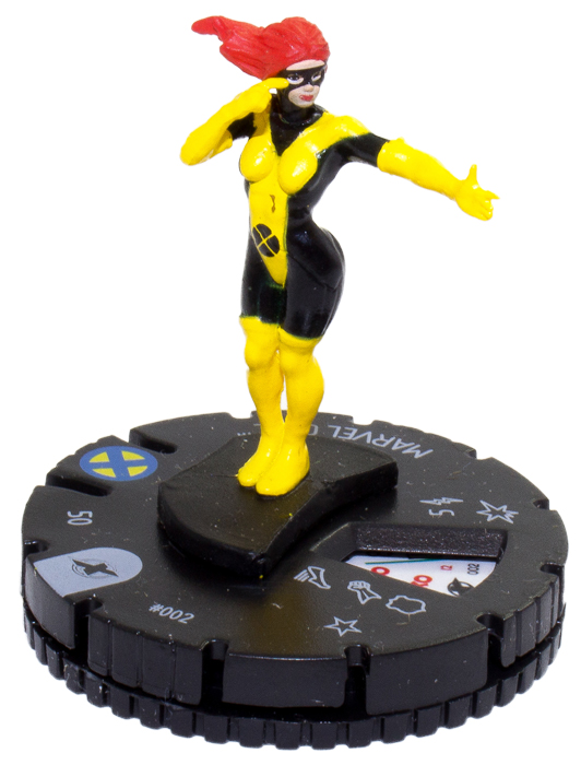 DC Heroclix Crisis 002 Kid Flash Common