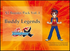 Bfe Buddy Legends Booster - Booster Box