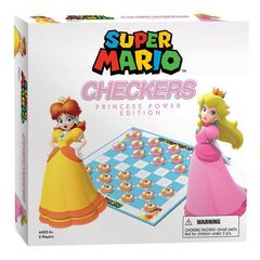 Checkers - Super Mario Princess Power