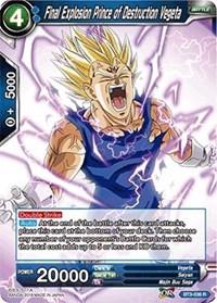 Final Explosion Prince of Destruction Vegeta - BT3-036 - R - Dragon