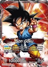 Rising Spirit Super Saiyan Son Goku SD2-01 ST Dragon Ball Super TCG NM