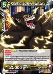 Rampaging Great Ape Son Goku - BT3-089 - R
