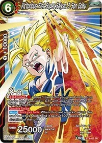 Victorious Fist Super Saiyan 3 Son Goku Bt3 003 Sr