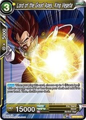 Lord of the Great Apes, King Vegeta (Foil) - BT3-093 - C