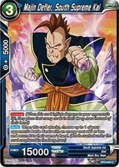 Majin Defier, South Supreme Kai (Foil) - BT3-040 - C