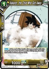 Kakarot, the Child Who Got Away (Foil) - BT3-091 - C