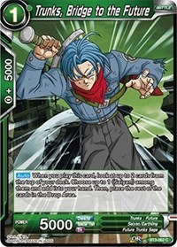 1X NM Unyielding Justice SS2 Trunks BT3-061 Uncommon Dragon Ball Super CCG